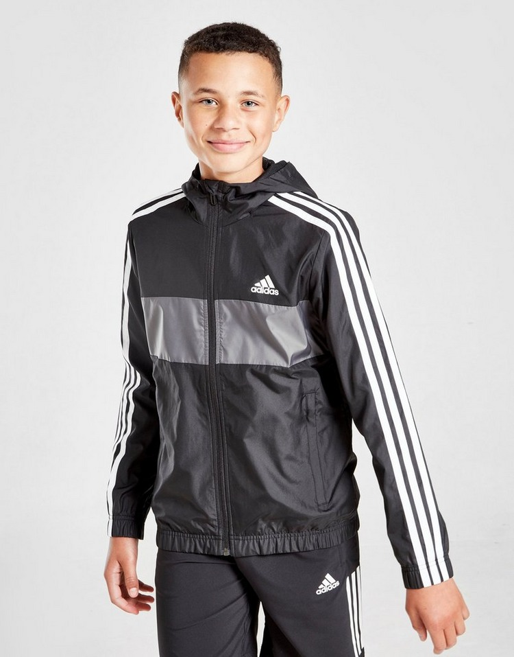adidas Lightweight Colour Block Jacket Junior