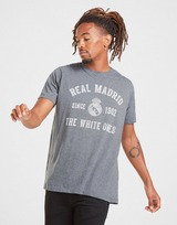 Official Team Real Madrid Arch Short Sleeve T-Shirt Men's