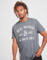 Official Team Real Madrid Arch Short Sleeve T-Shirt Men's