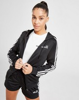 adidas Originals 3-Stripes Linear Poly Full Zip Hoodie