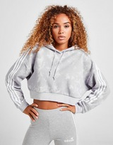 adidas Originals Acid Wash Crop Hoodie
