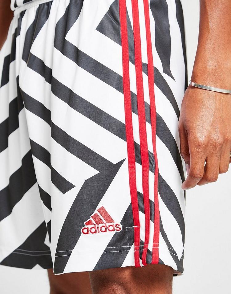 adidas Short Troisième maillot Manchester United FC 20/21 Homme Pré-commande