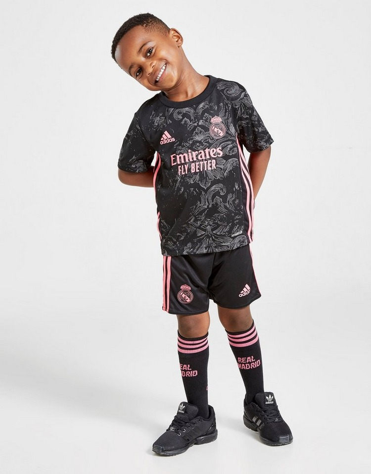 adidas Real Madrid 2020/21 Third Kit Children