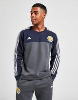 adidas Scotland 3-Stripe Crew Sweatshirt