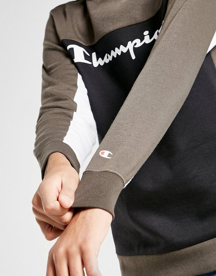 Champion Legend Colour Block Fleece Hoodie Junior