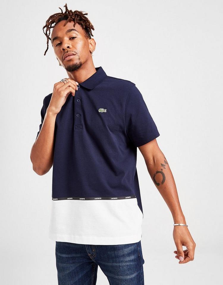 Lacoste Colour Block Tape Polo Shirt