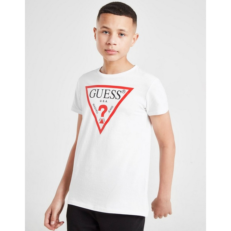 Guess camiseta Triangle Logo júnior