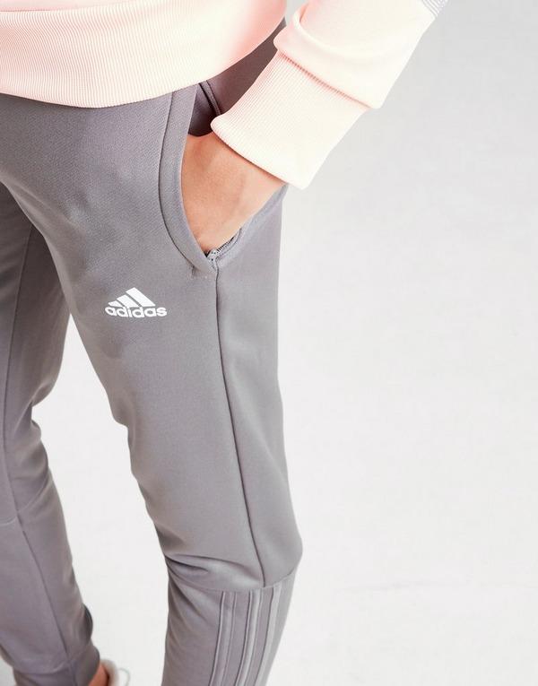 buy adidas girls badge of sport hooded tracksuit junior jd sports adidas