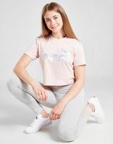Puma Girls' Core Crop Foil T-Shirt Junior
