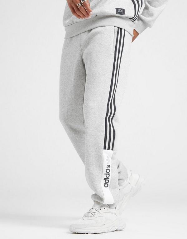 Koop Grijs adidas Originals ZX Fleece Joggingbroek Heren