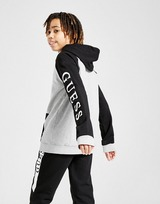 GUESS Cut N Sew Zip Hoodie Junior
