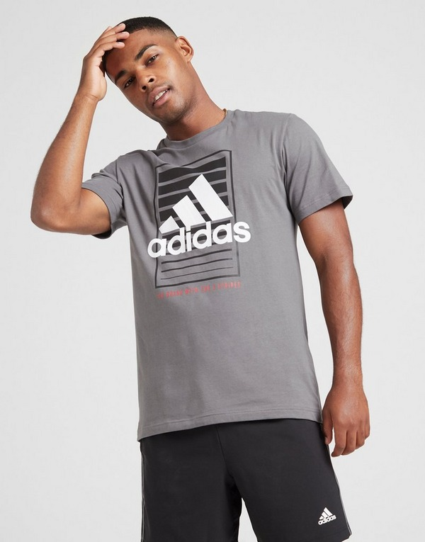 adidas Badge of Sport Box T Shirt | JD Sports