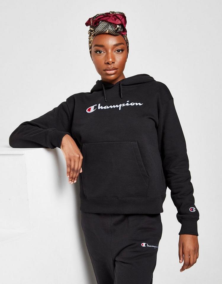 Champion Embroidered Script Boyfriend Hoodie