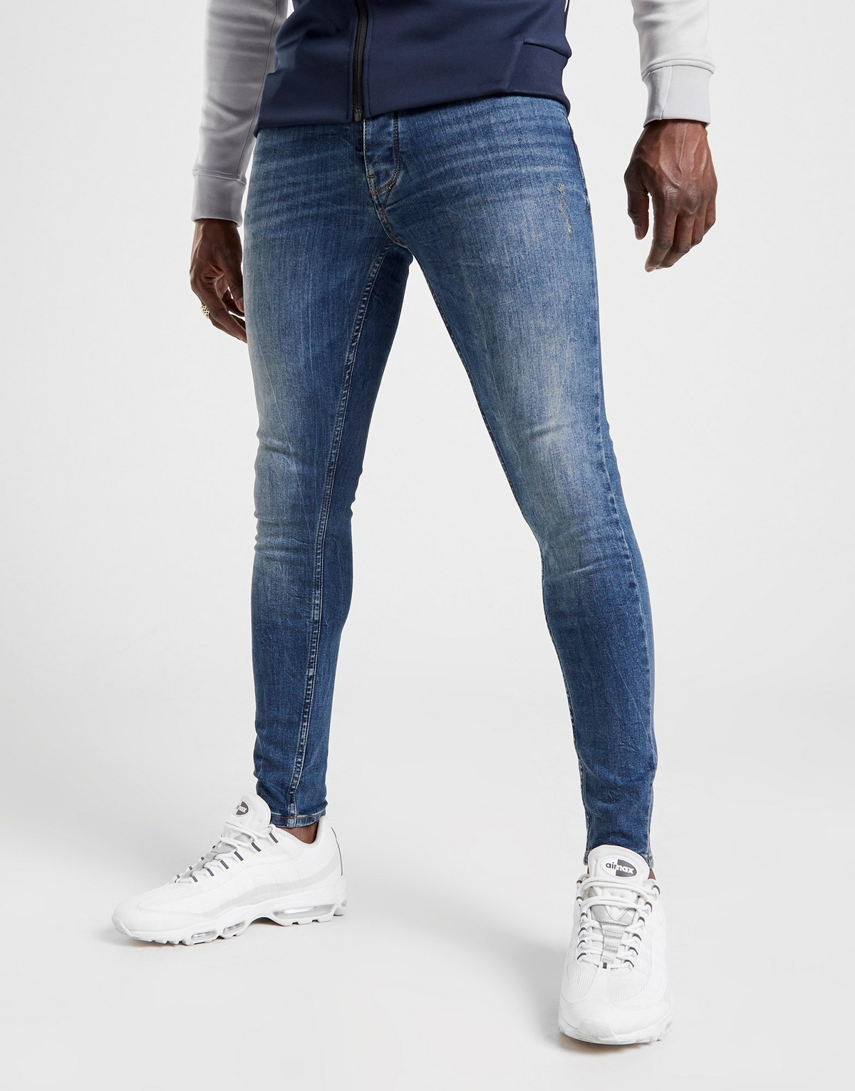 Gym King Ford Mid Wash Jeans