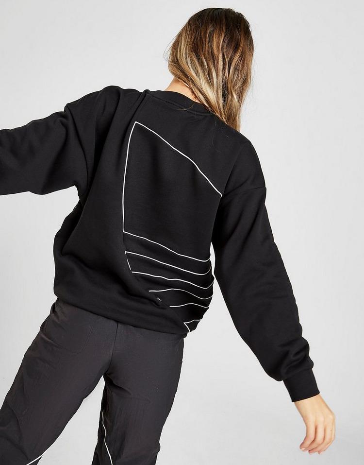 adidas Originals Large Logo Crew Sweatshirt