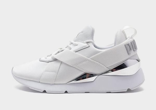 White Puma Muse X3 Metallic Women's | JD Sports