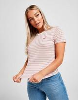 Levis T-shirt Small logo Femme
