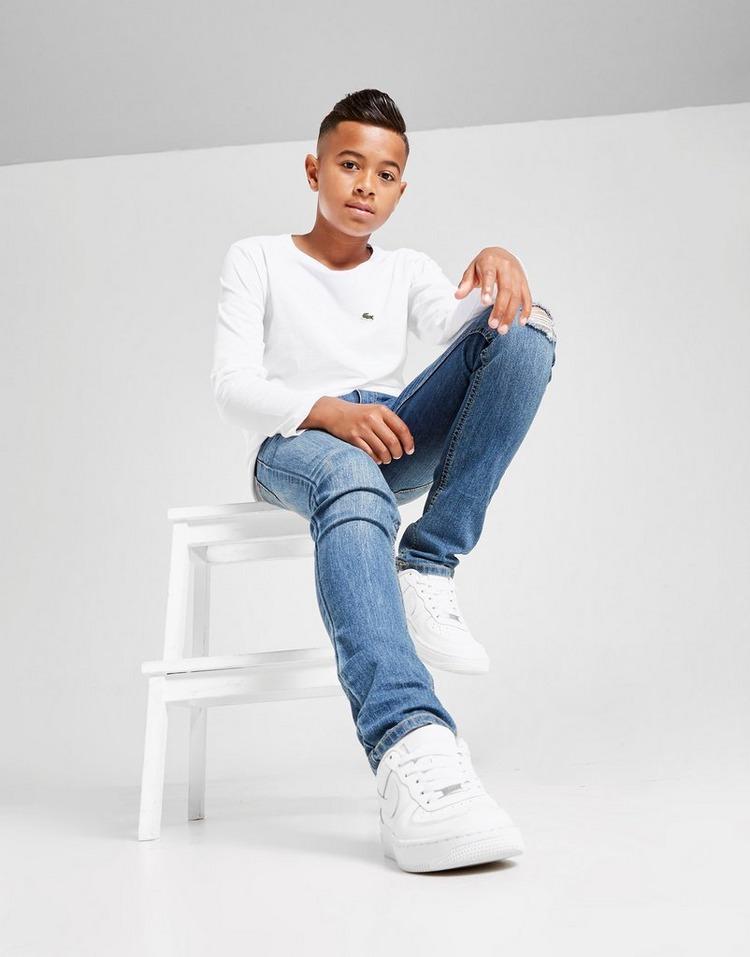 Lacoste Long Sleeve Croc Logo T-Shirt Junior