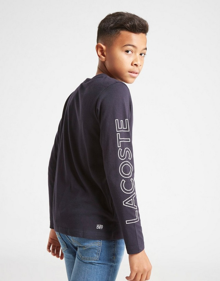 Lacoste Long Sleeve Graphic T-Shirt Junior