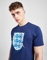 Official Team England 3 Lions Short Sleeve T-Shirt