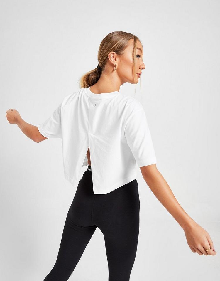 Calvin Klein Performance Crop Logo T-Shirt