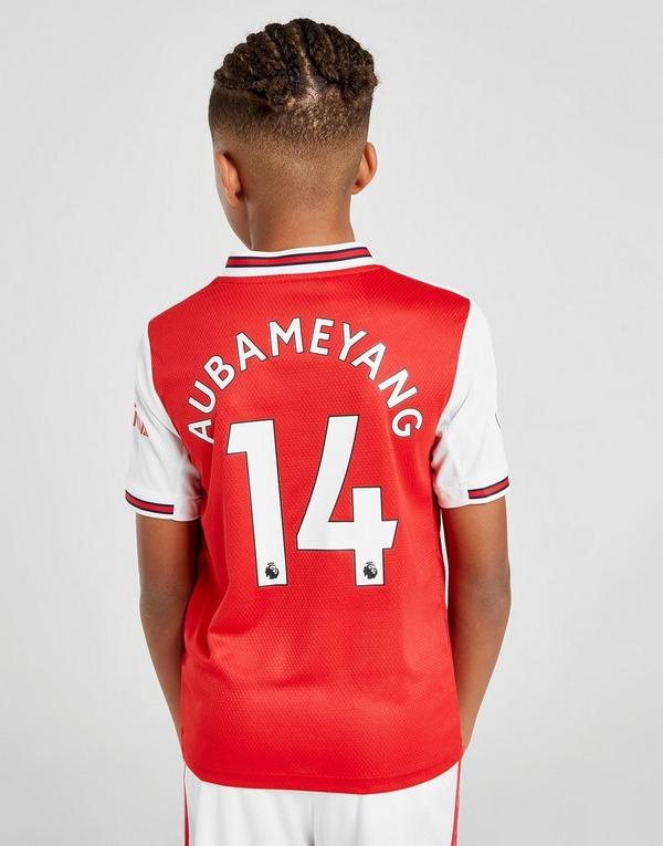 adidas Arsenal FC 19/20 Aubameyang #14 Home Shirt Junior