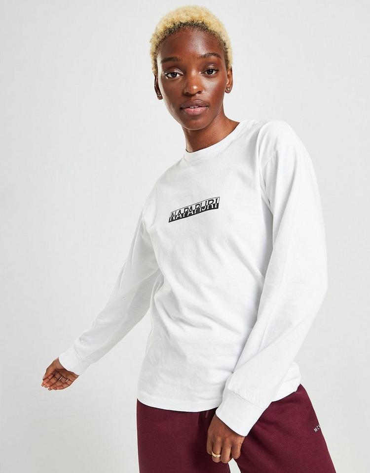 Napapijri Logo Boyfriend Long Sleeve T-Shirt