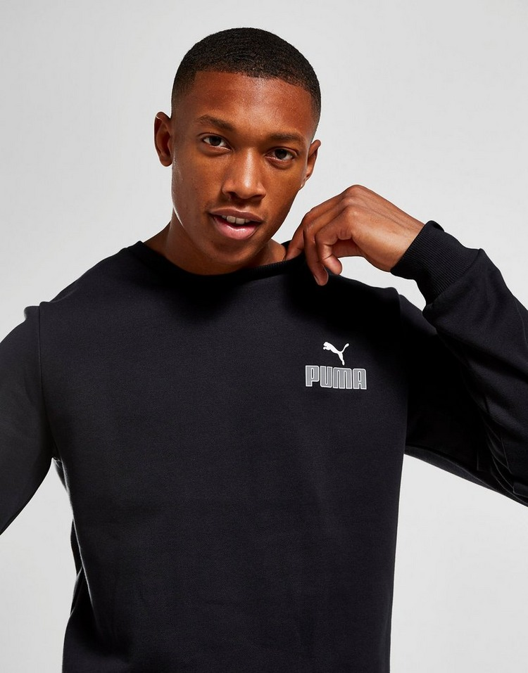 Puma Core Small Logo Crew Sweatshirt