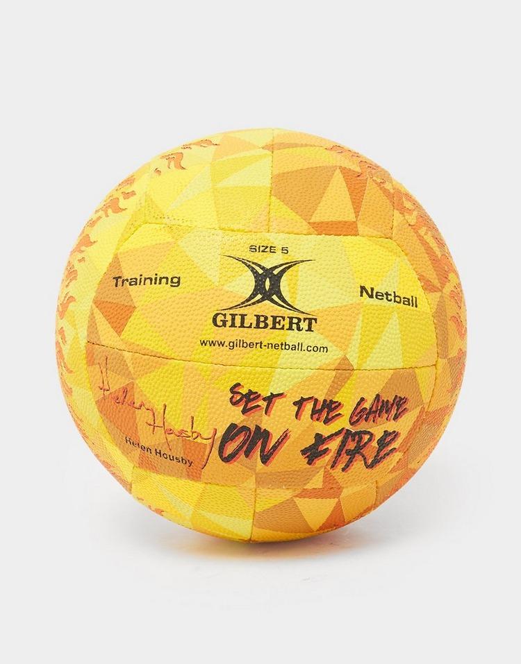Gilbert Helen Housby Signature Netball