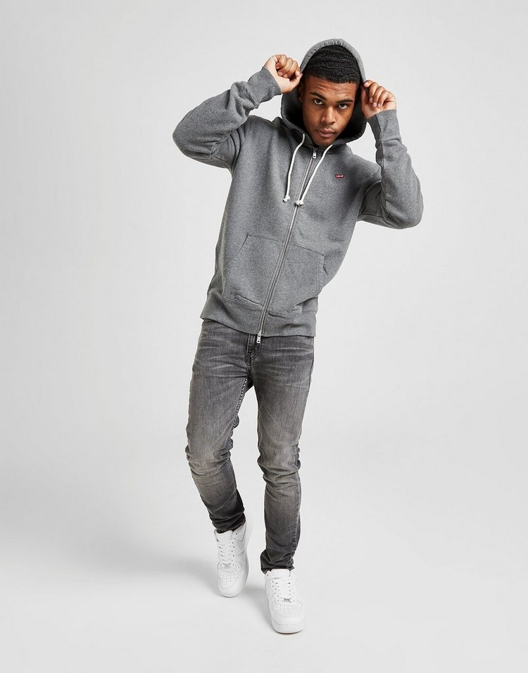 Levis Small Logo Zip Through Hoodie