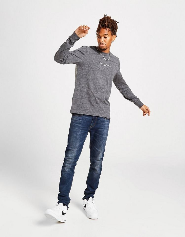 Fred Perry Central Logo Long-Sleeve T-Shirt