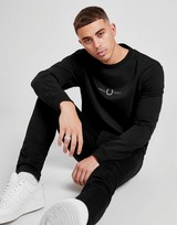 Fred Perry Central Logo Embroidered Sweatshirt