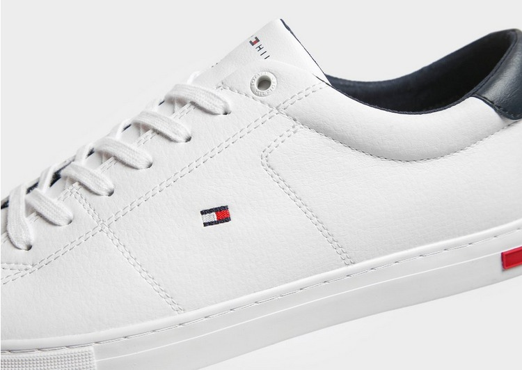 Tommy Hilfiger Leather Vulcanise Heel Clip
