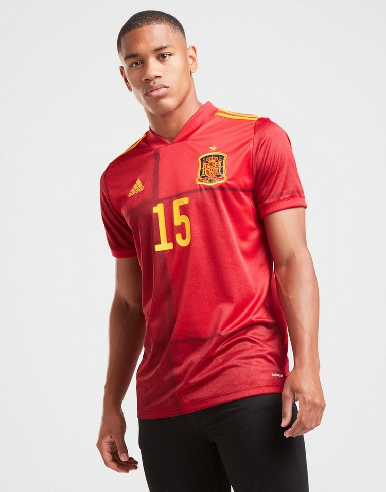 adidas Spain 2020 Ramos #15 Home Shirt