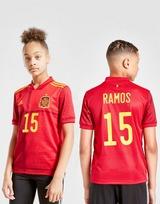 adidas Spain 2020 Ramos #15 Home Shirt Junior