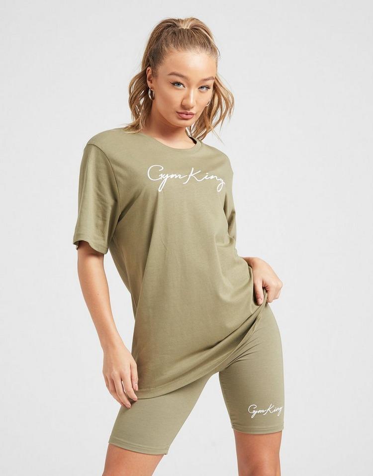 Gym King Logo Boyfriend T-Shirt