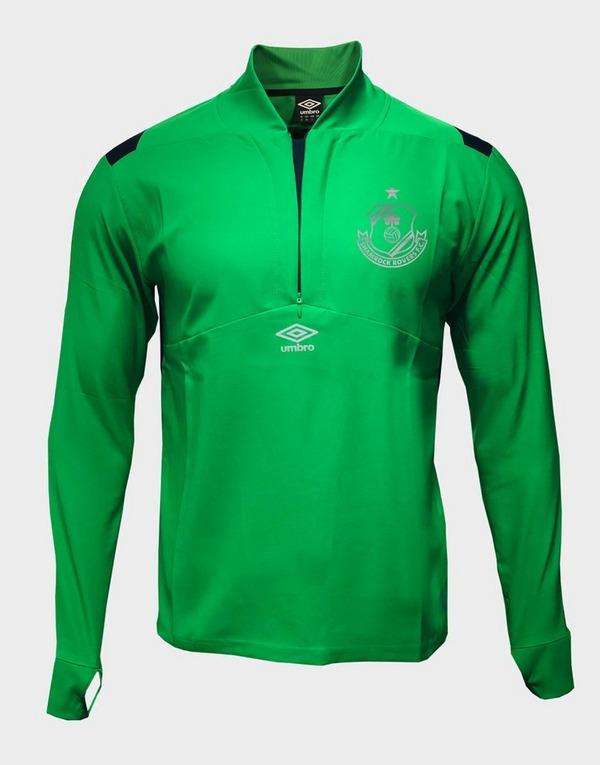 Umbro Shamrock Rovers 1/4 Zip Drill Jacket Men's