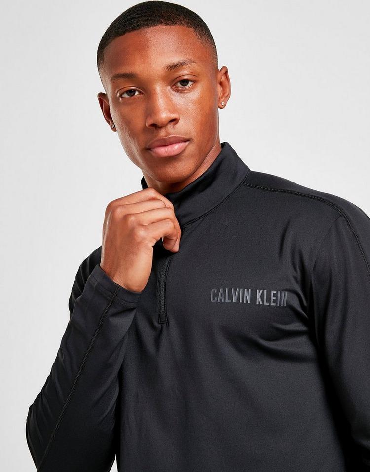Calvin Klein CK Poly 1/4 Zip Track Top