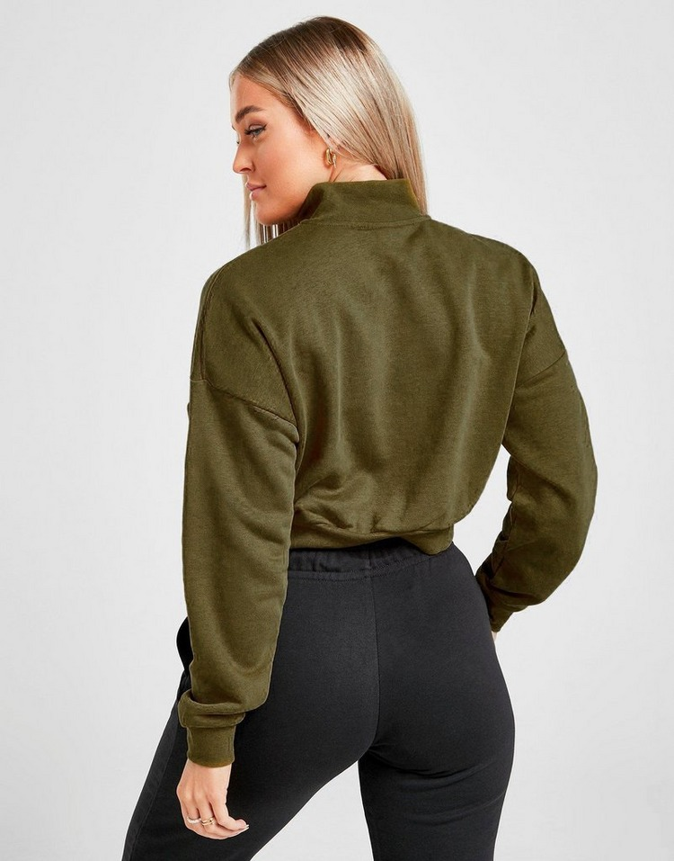 Nike Essential Crop 1/4 Zip Sweatshirt