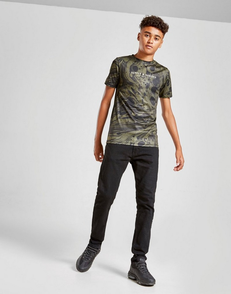 Supply & Demand Melt T-Shirt Junior