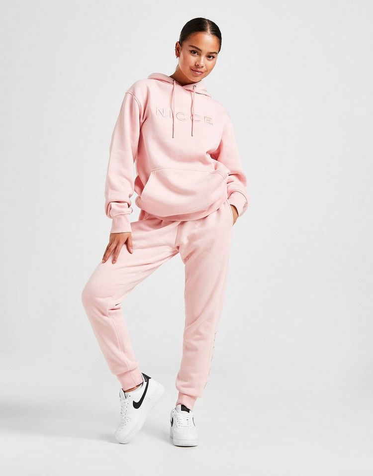 Nicce Embroidered Fleece Joggers Women's