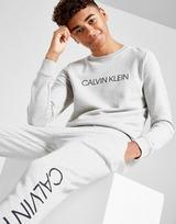 Calvin Klein Institutional Logo Crew Sweatshirt Junior