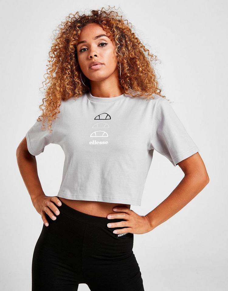 Ellesse Repeat Logo Crop T-Shirt