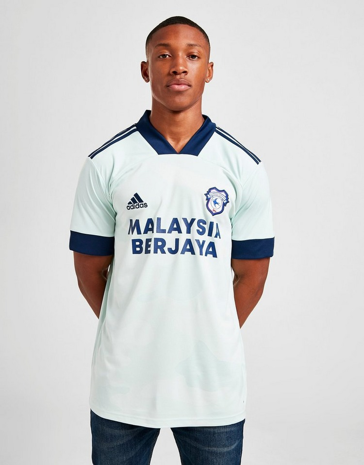 adidas Cardiff City FC 2020/21 Away Shirt