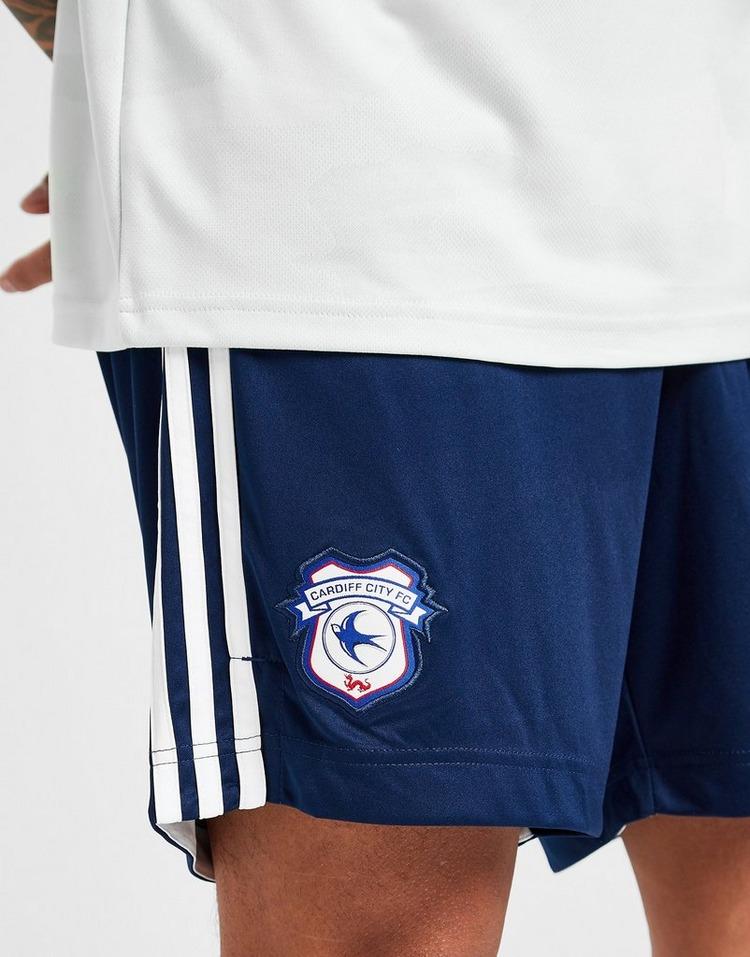 adidas Cardiff City FC 2020/21 Away Shorts