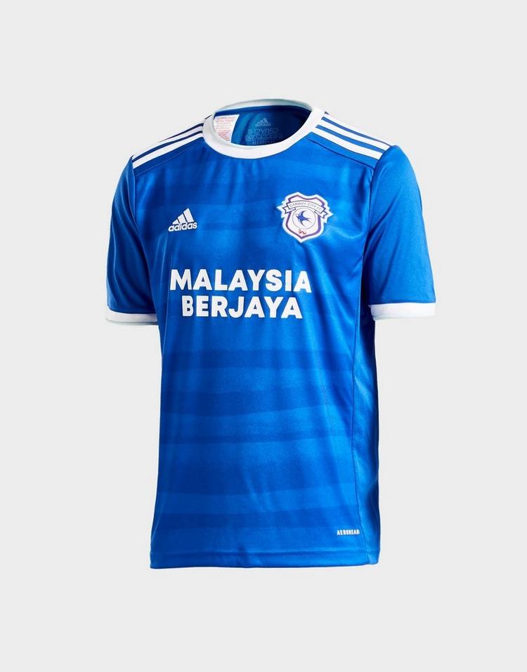 adidas Cardiff City FC 2020/21 Home Shirt Junior