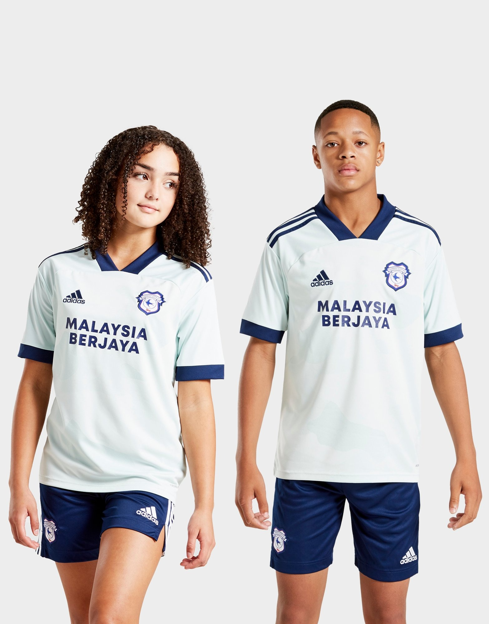adidas Cardiff City FC 2020/21 Away Shirt Junior | JD Sports