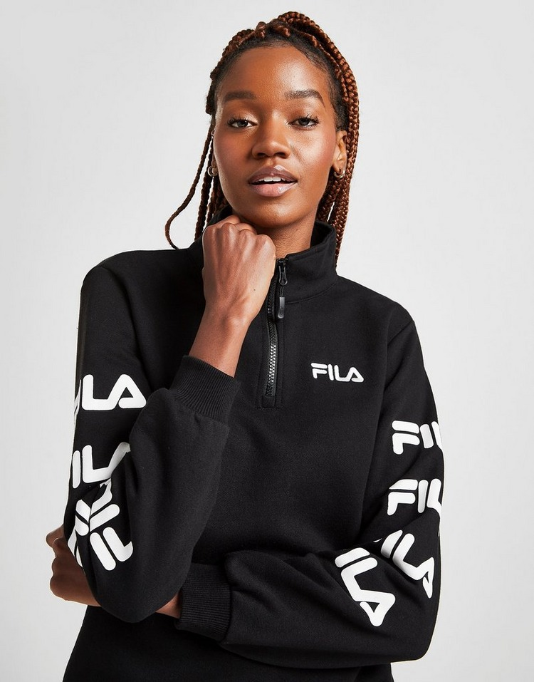 Fila Repeat Logo 1/4 Zip Sweatshirt