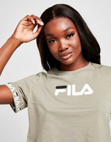 Fila Jaquared Crop T-Shirt