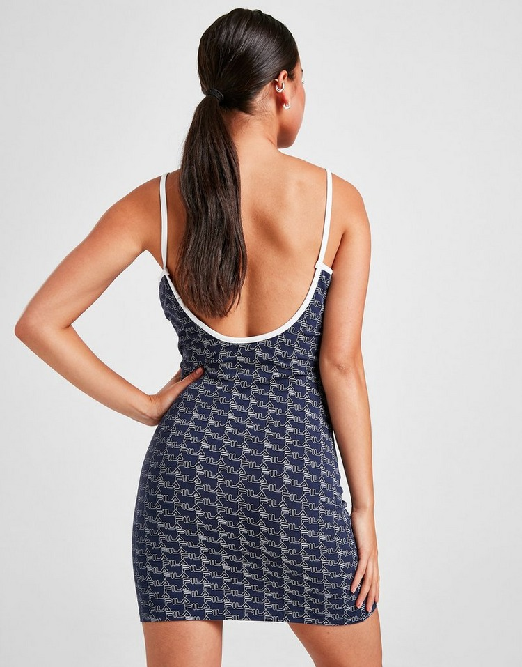 Fila All Over Print Strappy Dress